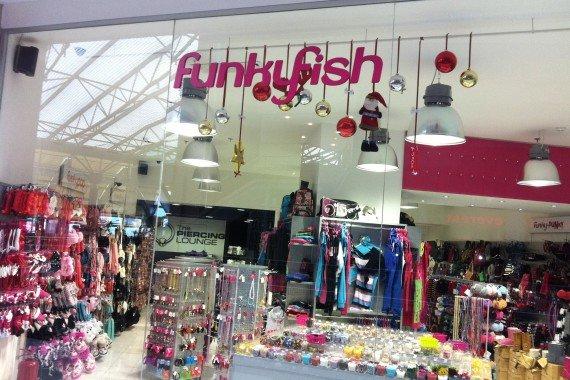 funky fish mall
